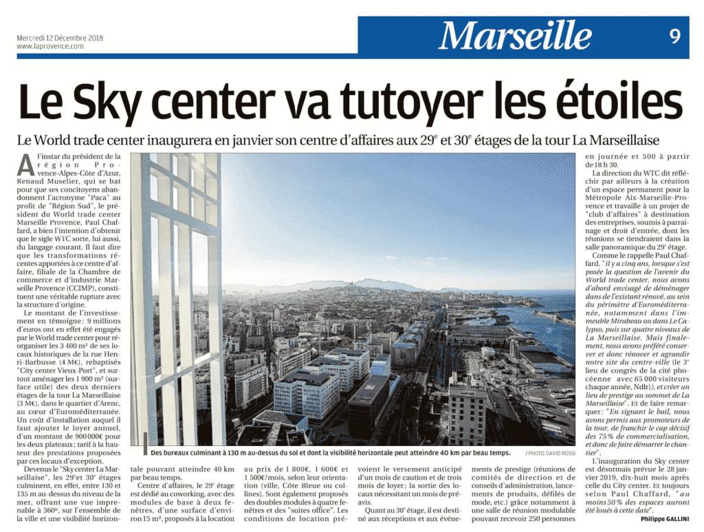Centre de congrès & centre d'affaires à marseille et Paris