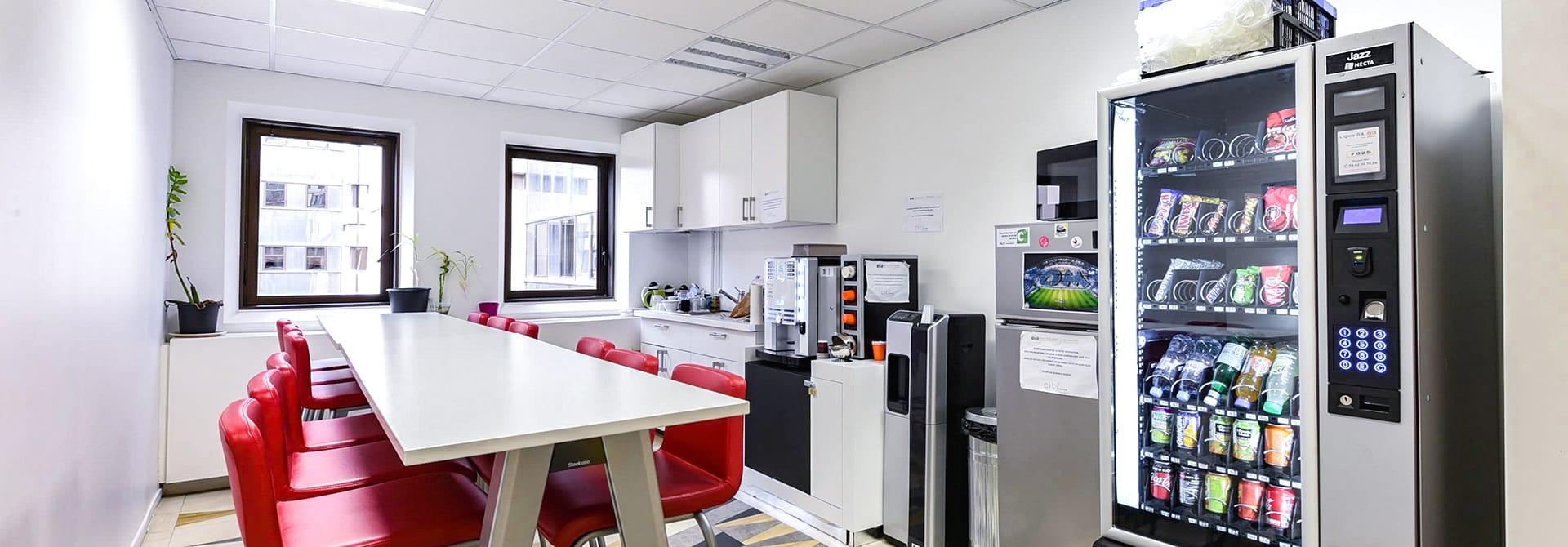 Location coworking à Marseille avec Lunch Box |City Center