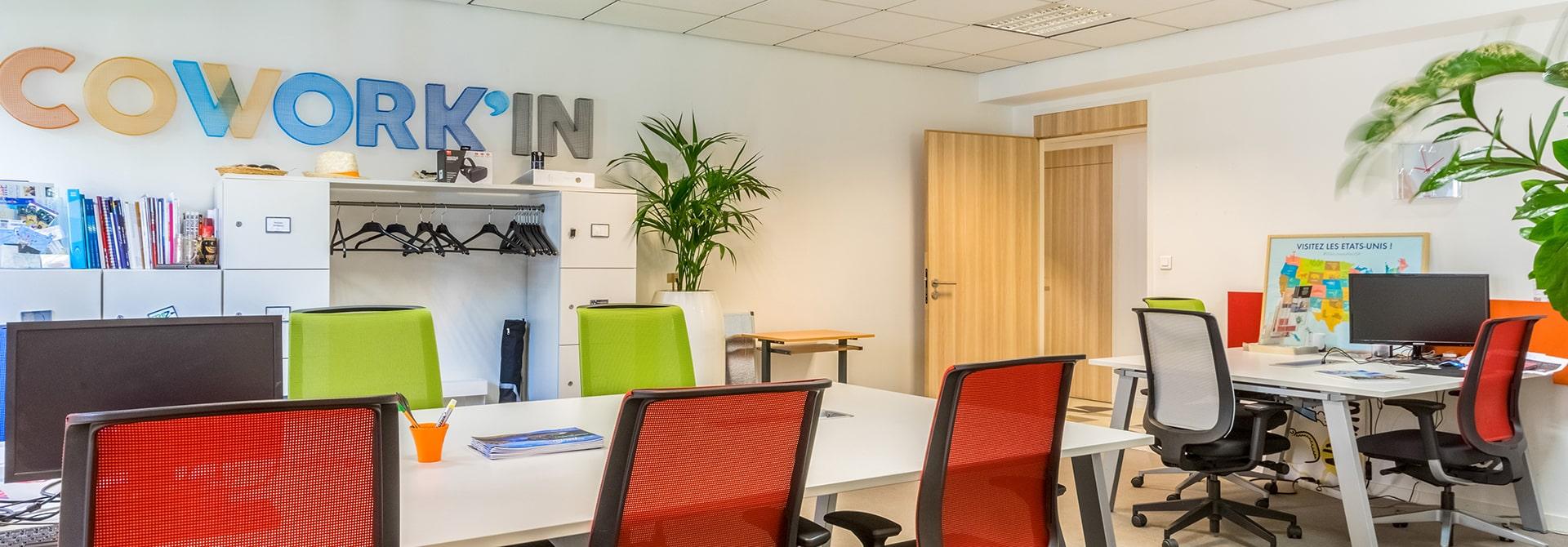 Location espace Coworking à la journée à Marseille | City Center
