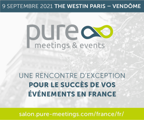 Visuel Salon Pure Meetings and Events