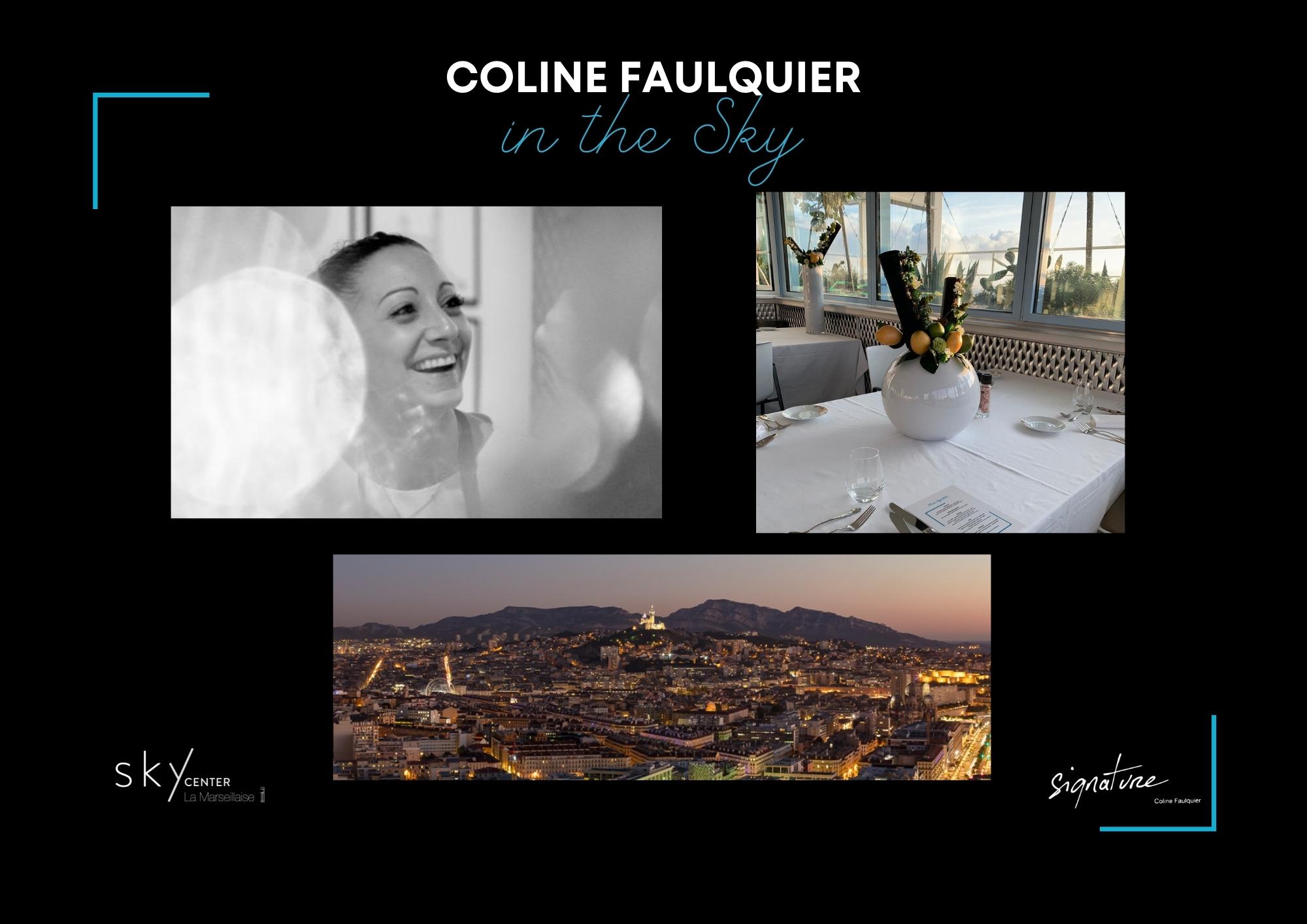 Retour en images sur le Diner in the Sky avec Coline Faulquier